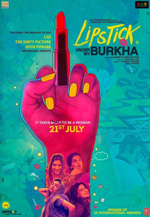 Lipstick Under My Burkha Review : This Enthralling film will