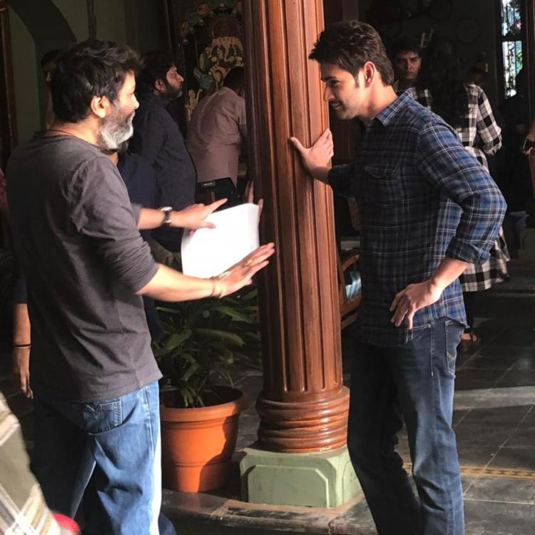 Mahesh Babu collaborates with Trivikram again and calls the filmmaker his favorite; See Pic