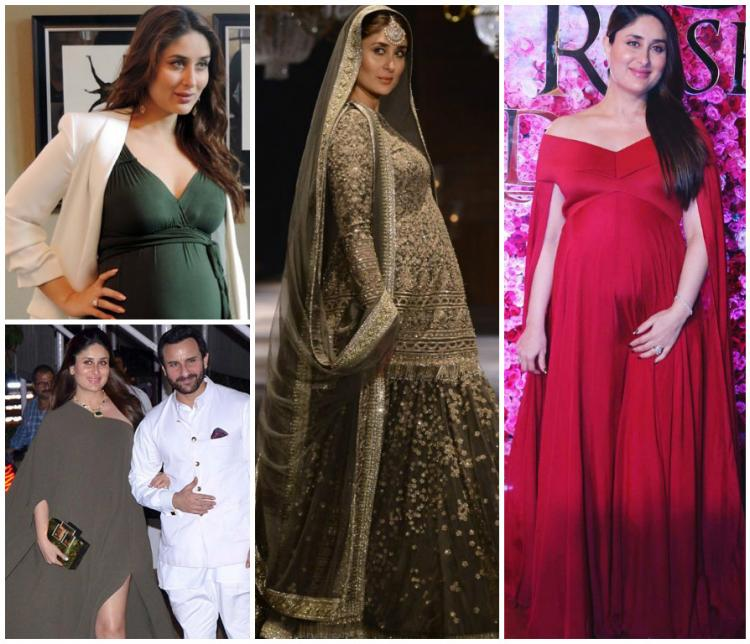 Celebrity Style Fashion Kareena Kapoor Khan Baby P Maternity