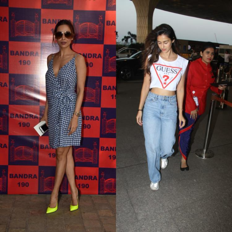 PHOTOS: Malaika Arora dons a sassy look for an event; Disha Patani keeps it simple as she sets off for Delhi