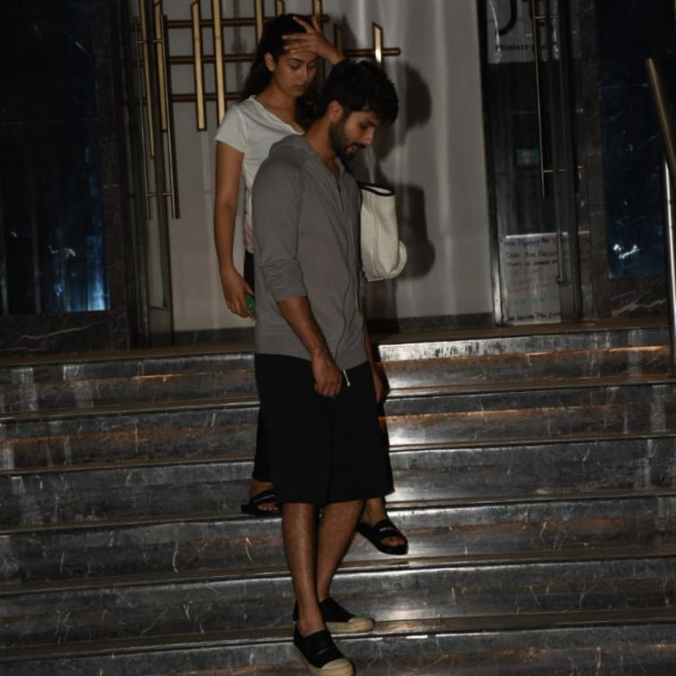 PHOTOS: Shahid Kapoor and wife Mira Rajput are giving major couple goals as they go for a dinner outing