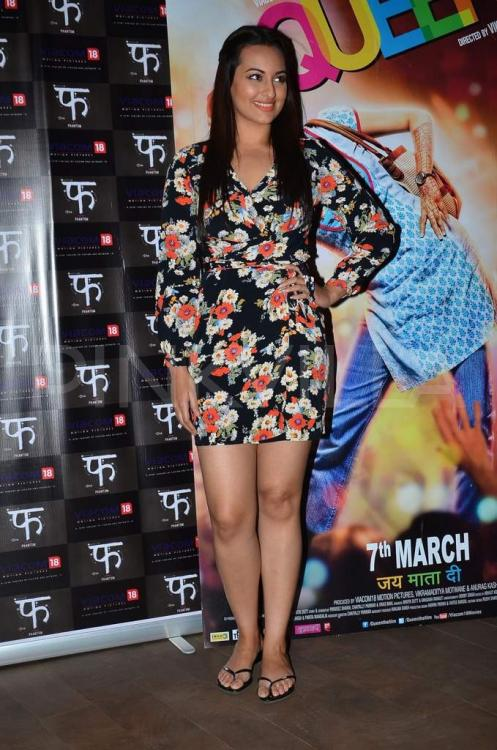 Sonakshi Sinha Attends The Screening Of Queen  Pinkvilla-1573