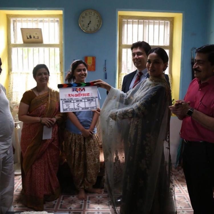 Madhuri Dixit And Her Husband ShriRam Nene Started Her Own Production House ''RnM'' 5