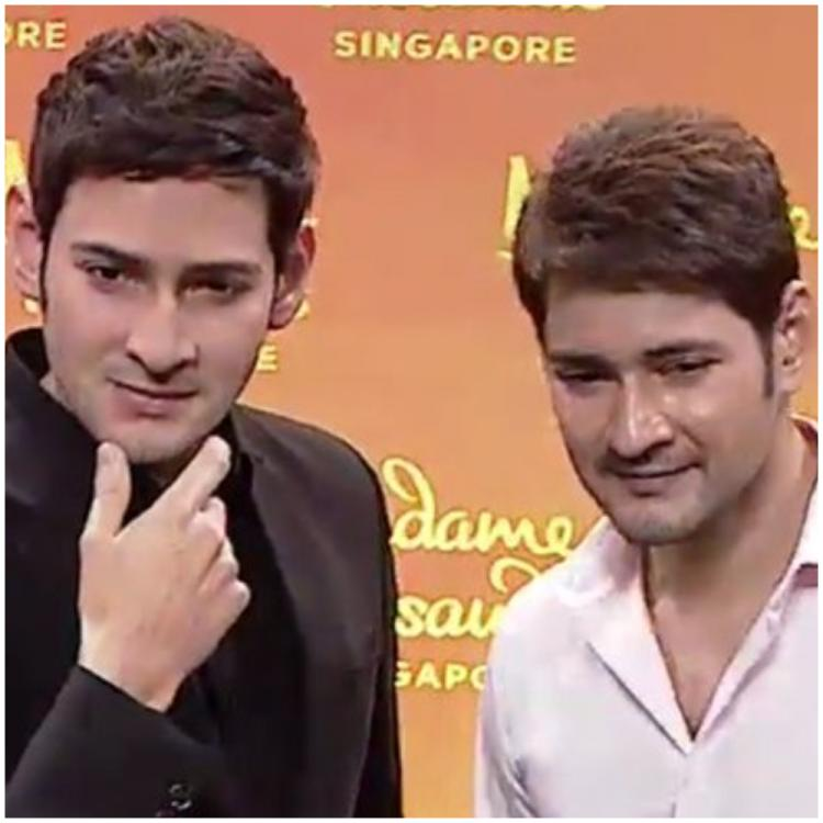 Madame Tussauds: Mahesh Babu's fans go berserk as the superstar proudly unveils his wax statue with family
