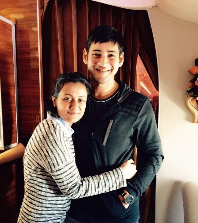 Mahesh Babu has an adorable birthday wish for wife Namrata Shirodkar along with THIS throwback photo