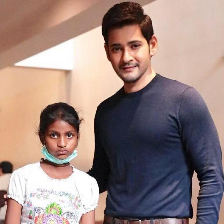 Mahesh Babu's gesture of meeting a fan suffering from cancer on the sets of Maharshi is heartwarming; see pics
