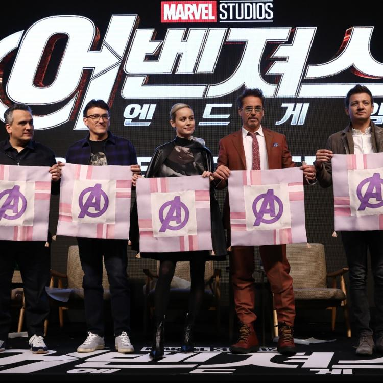Avengers: Endgame South Korea PHOTOS: Robert Downey Jr, Brie Larson, Jeremy Renner & others address the media