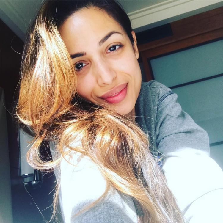 Malaika Arora's pictures sans makeup prove she's naturally gorgeous; Check it out
