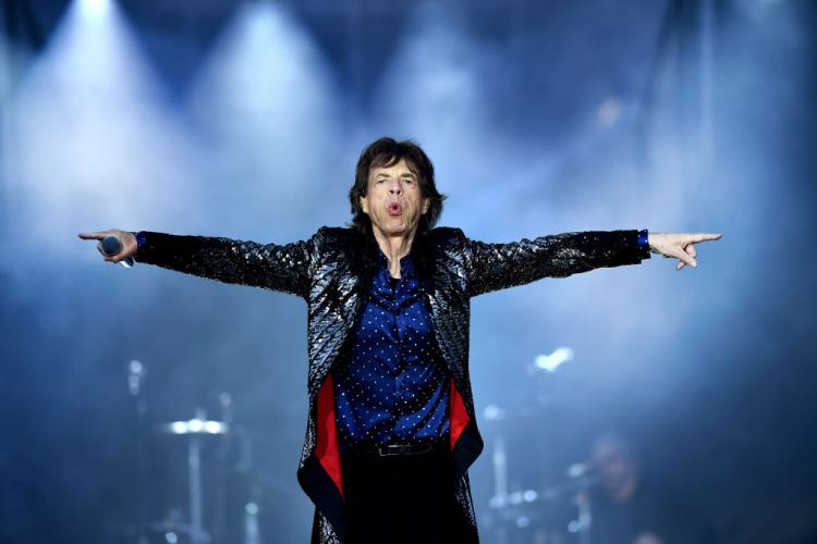 Mick Jagger put on his dancing shoes just weeks after undergoing heart surgery