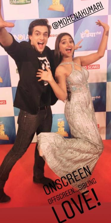 Yeh Rishta Kya Kehlata Hai: Mohsin Khan & Mohena Kumari Singh's real life bond is as endearing as the reel one
