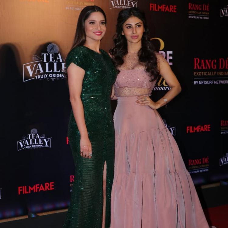 Filmfare Glamour and Style Awards: Ankita Lokhande and Mouni Roy rock their red carpet look