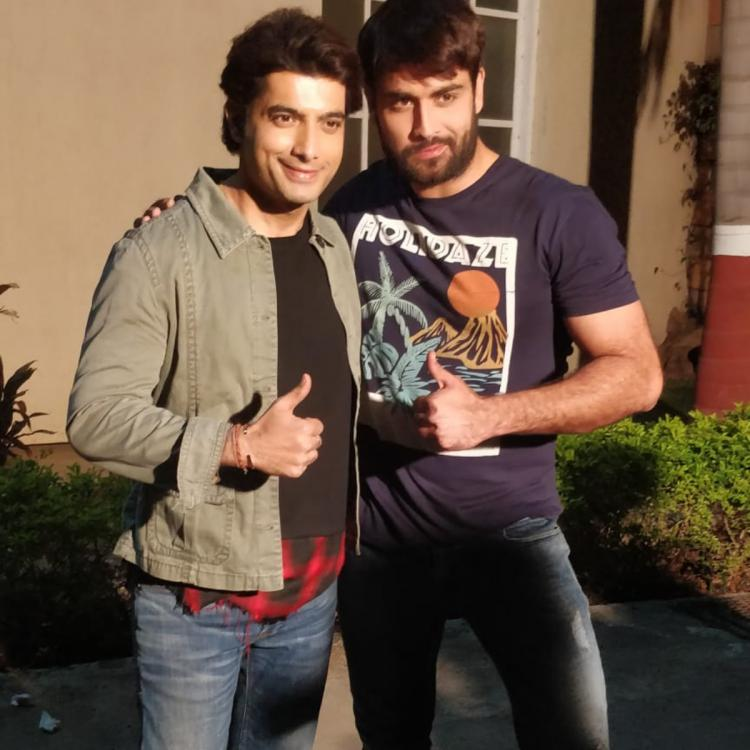 Muskaan star Ssharad Malhotra gets a lovely surprise from friend Vivian Dsena on his birthday