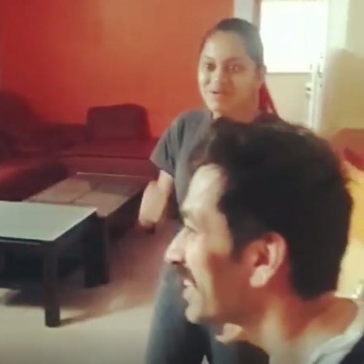 Nakuul Mehta's surprise visit to a young fan's home won many hearts including his wife Jankee Parekh's; WATCH