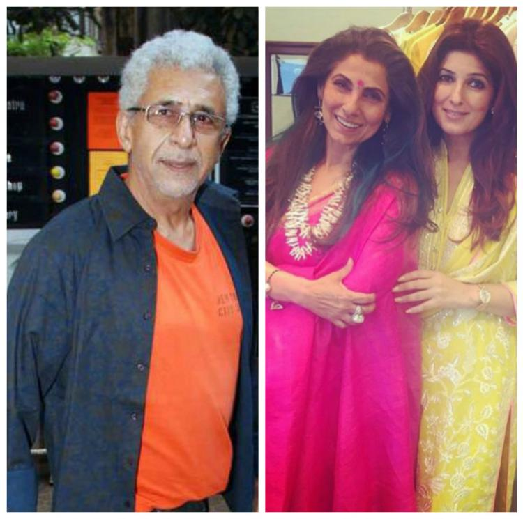 After Twinkle, Dimple Kapadia Reacts to Naseeruddin Shah's ...