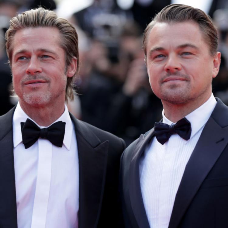 Once Upon A Time in Hollywood: Brad Pitt and Leonardo DiCaprio turned into KIDS while working with Luke Perry