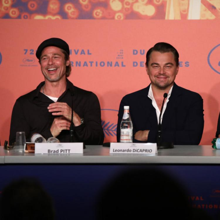 Once Upon A Time In Hollywood: Brad Pitt, Leonardo DiCaprio and Quentin Tarantino have fun at Cannes 2019