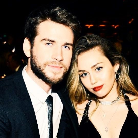 Newlyweds Miley Cyrus and Liam Hemsworth have a date night at the 2019 G'Day USA Gala.