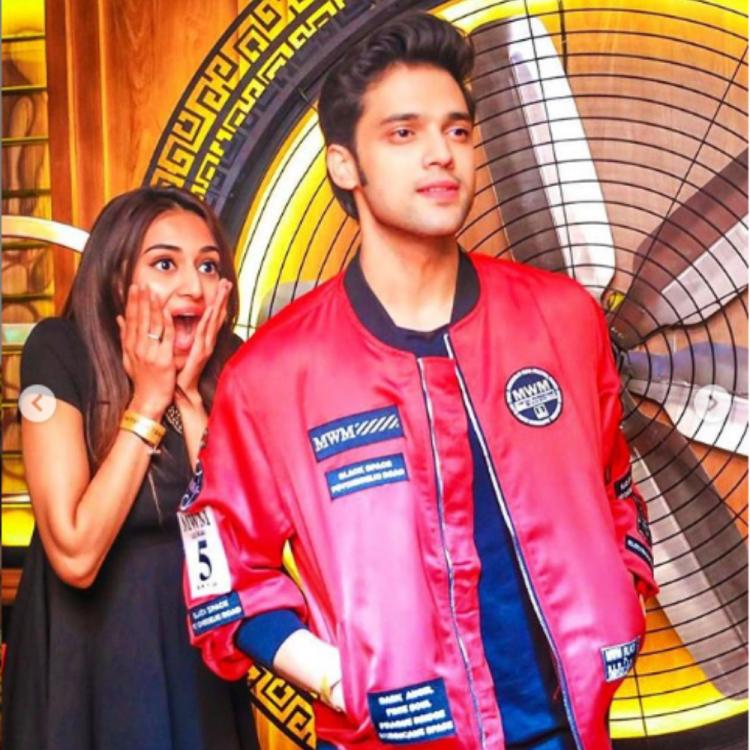 Kasautii Zindagii Kay actress Erica Fernandes photobombs Parth Samthaan's picture in the most hilarious manner