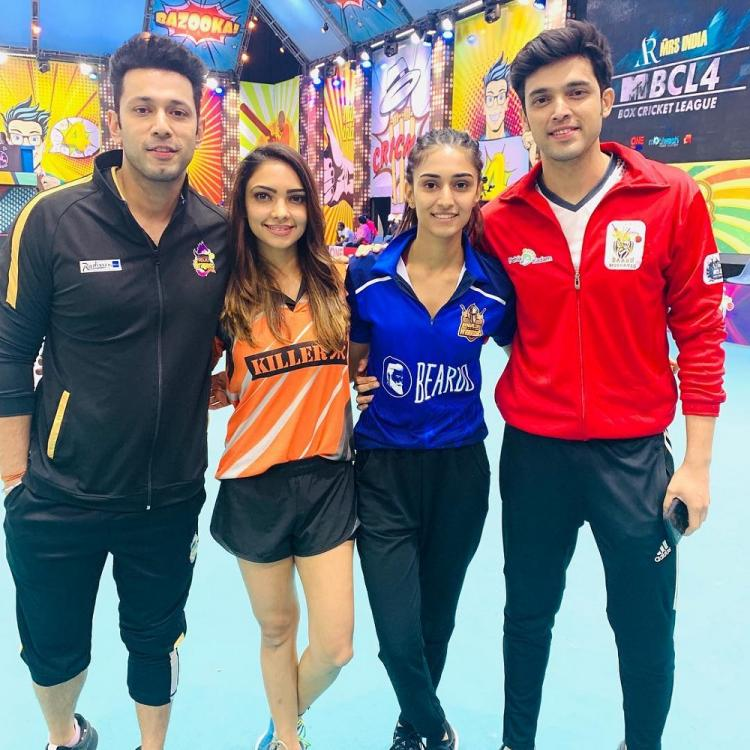 Kasautii Zindagii Kay's Parth Samthaan, Erica Fernandes, Pooja Banerjee & Sahil are the perfect team; see pic