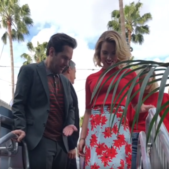 Avengers: Endgame's Paul Rudd is a true gentleman & this video with Brie Larson & Scarlett Johansson is proof