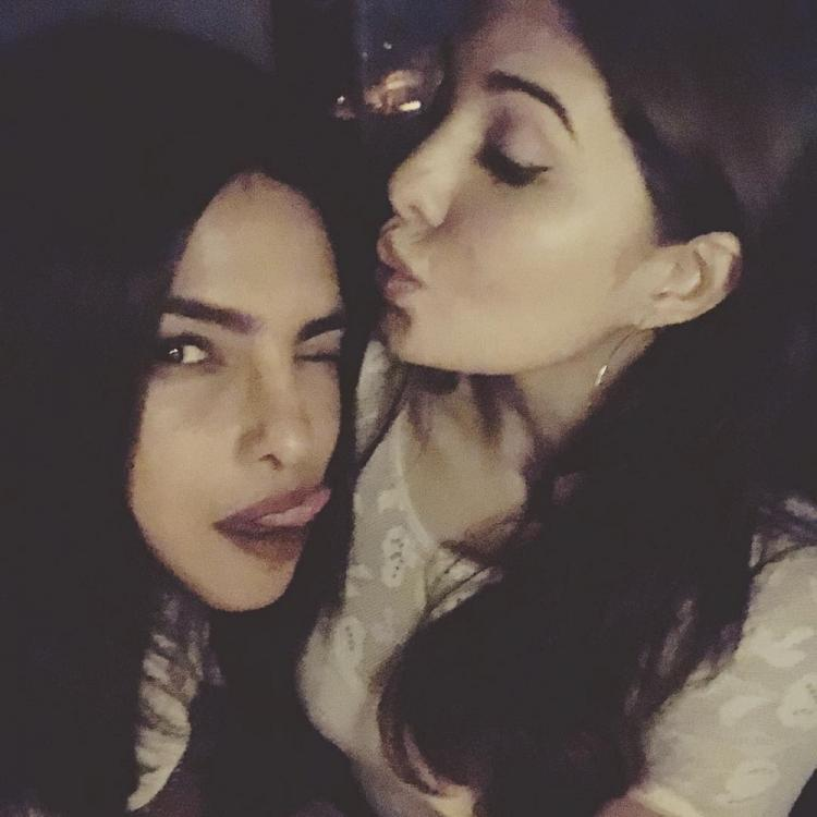 Priyanka Chopra Jonas and Jacqueline Fernandez are new BFFs in Bollywood and this photo is a proof