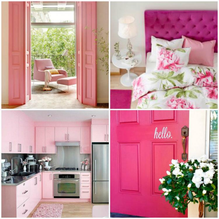 Home Decor Pink