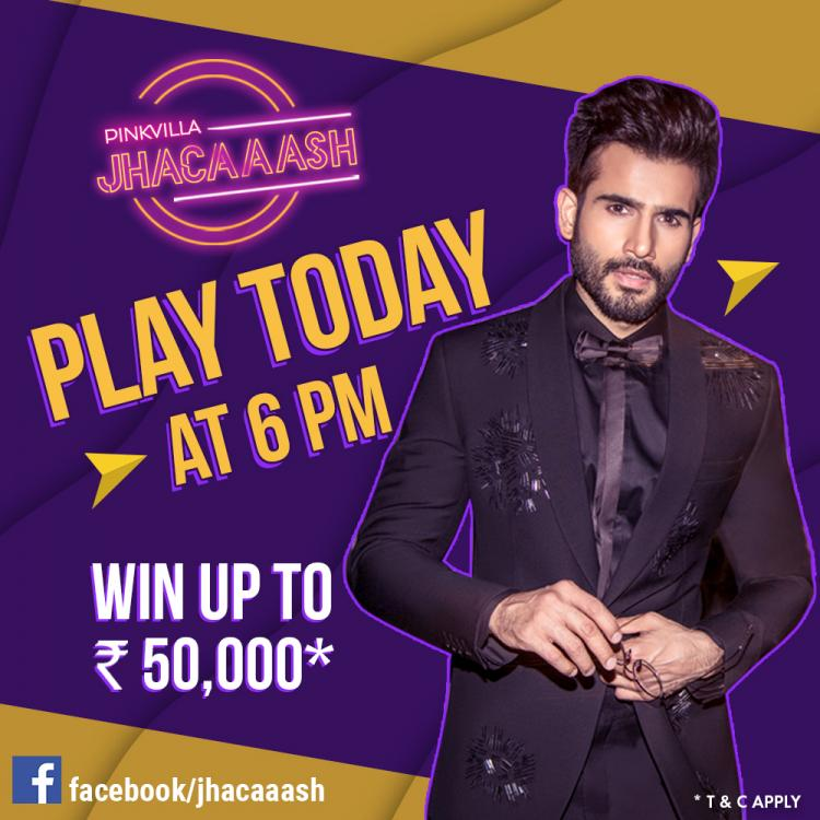 THURSDAY has arrived: Play Jhacaaash TODAY at 6 PM and show us your SRK knowledge and win up to Rs 50,000*
