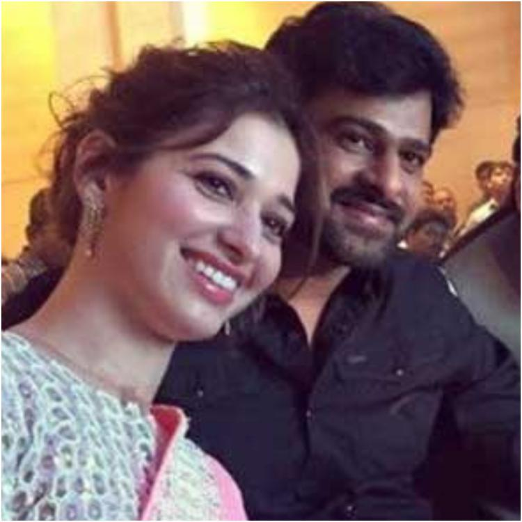 EXCLUSIVE VIDEO: Tamannaah Bhatia is super happy as Baabubali co star Prabhas finally makes Instagram debut
