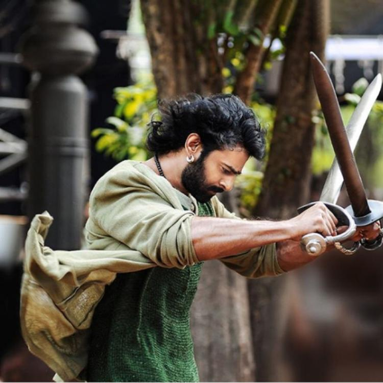 Prabhas posts his first ever picture on Instagram and it is from Baahubali
