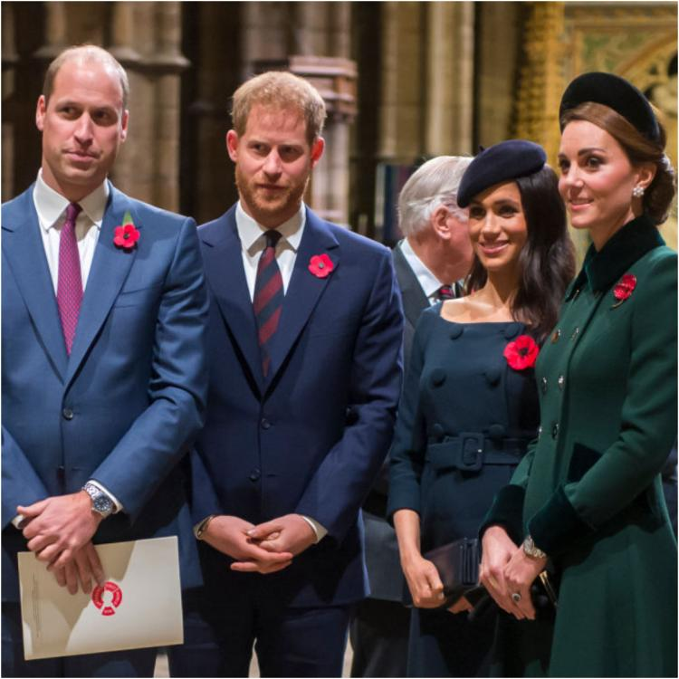Prince William, Kate Middleton, Prince Harry and Meghan Markle announce their new social project