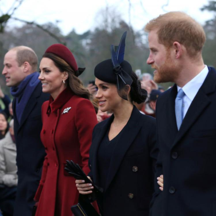 Prince William and Kate Middleton visited Prince Harry and Meghan Markle at their Frogmore Cottage home.