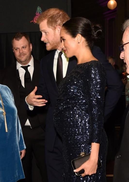 Prince Harry and Meghan Markle have the to be parents glow as they attend Cirque du Soleil; see pics