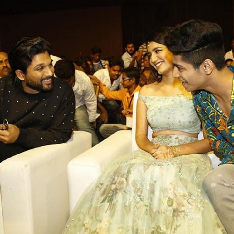 UNSEEN PICS: Priya Prakash Varrier takes the Internet by storm again with her candid moments with Allu Arjun