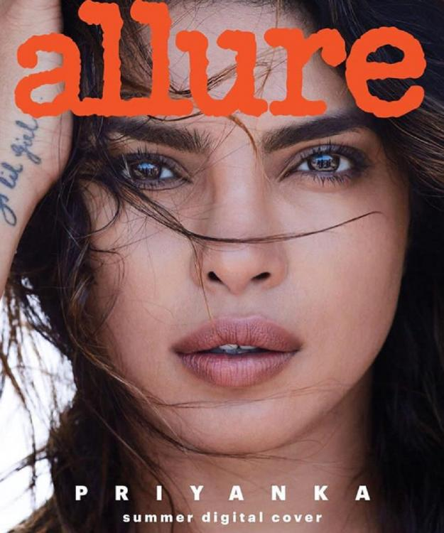 Priyanka Chopra's hot photo on the cover of Allure Magazine gets the Reader's choice award at the ASME 2019