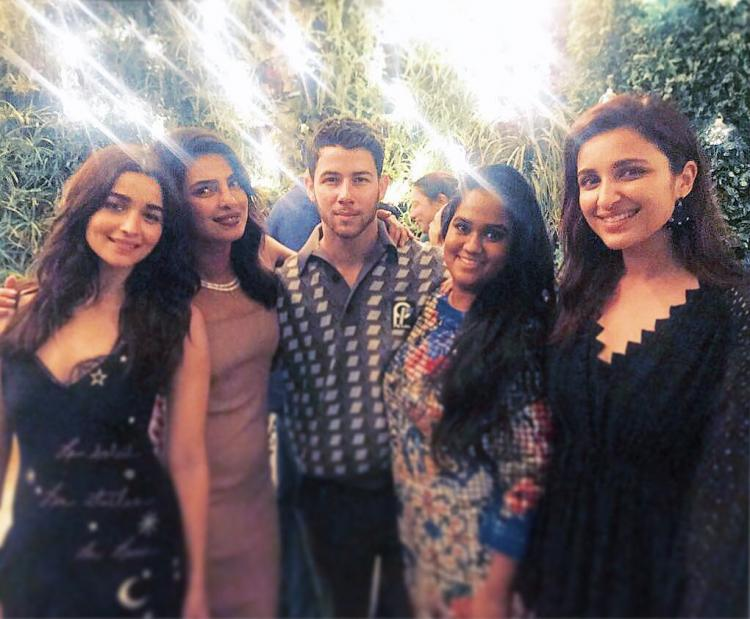 Photos,Priyanka Chopra,parineeti chopra,alia bhatt,Arpita Khan Sharma,Nick Jonas