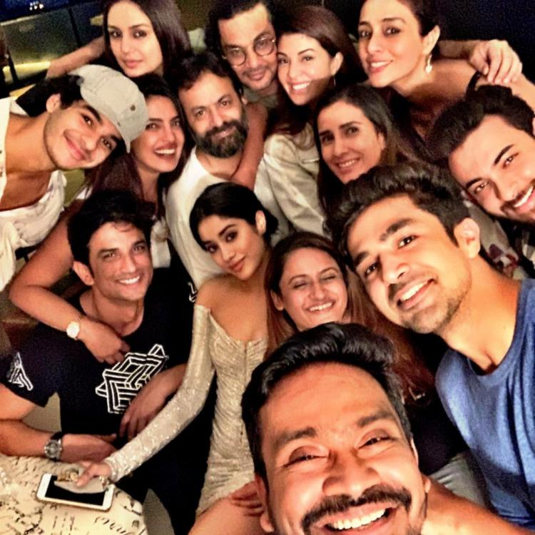 Priyanka Chopra, Janhvi Kapoor, Ishaan Khatter among others feature in 'most super loaded Bollywood selfie'