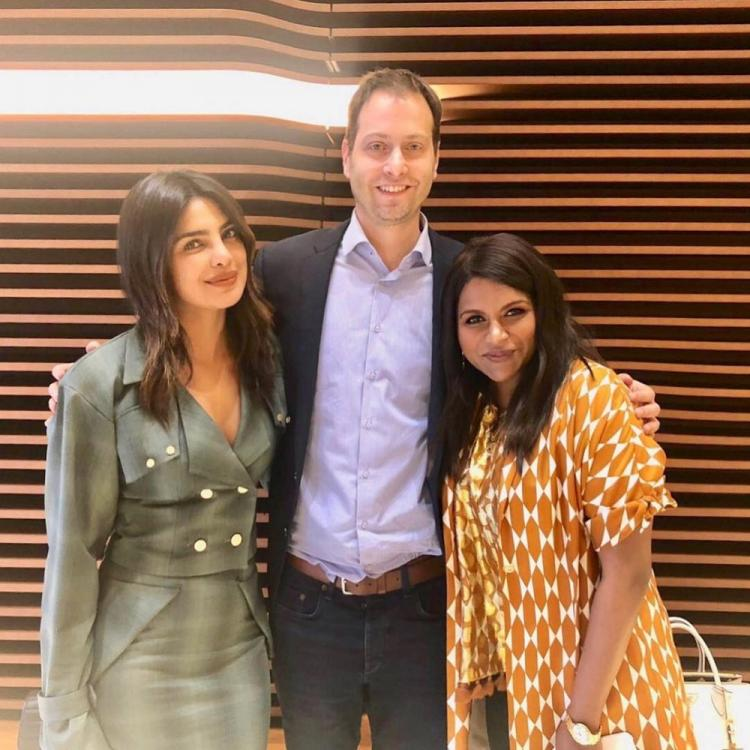 Priyanka Chopra Jonas and Mindy Kaling come together to work on a Wedding Comedy for Universal Pictures