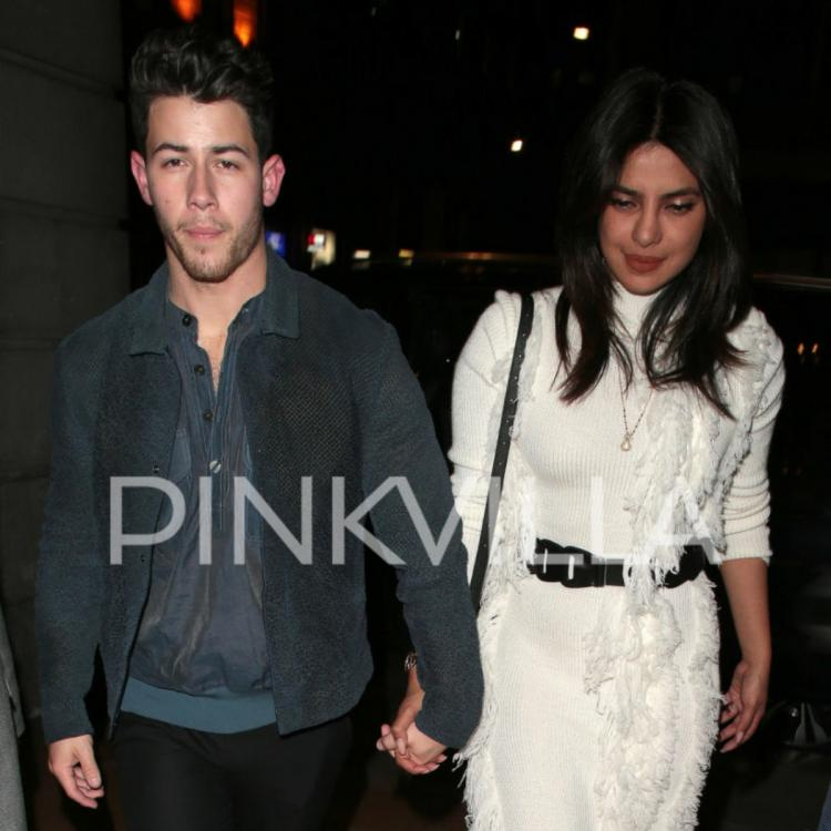 PHOTOS: Priyanka Chopra looks like a vision in white as she heads out for date night with Nick Jonas in London
