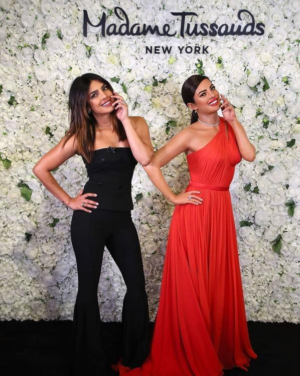 Priyanka Chopra to get 6 wax figures at Madame Tussauds; unveils the first one in New York