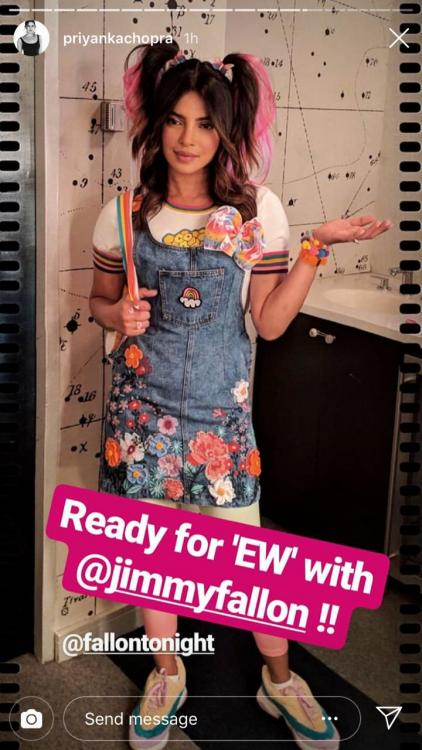 Priyanka Chopra Jonas dons a cute schoolgirl avatar with two ponytails for Jimmy Fallon's show; see pic