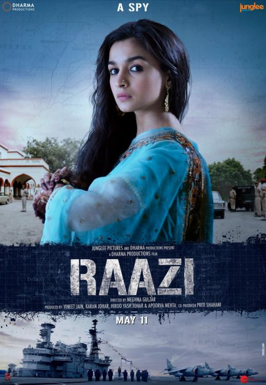 Image result for raazi poster
