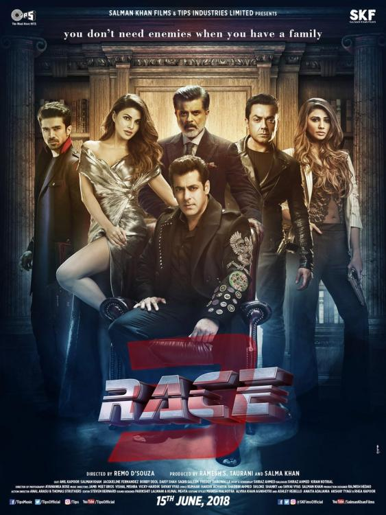 Race 3 - Releasing across Sweden on June 15, 2018 at SF Bio Cinemas