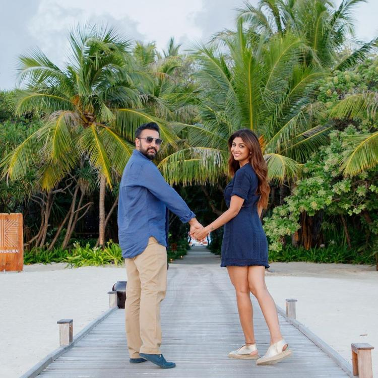 On Shilpa Shetty's birthday, husband Raj Kundra has a special and romantic message for her; Check it out