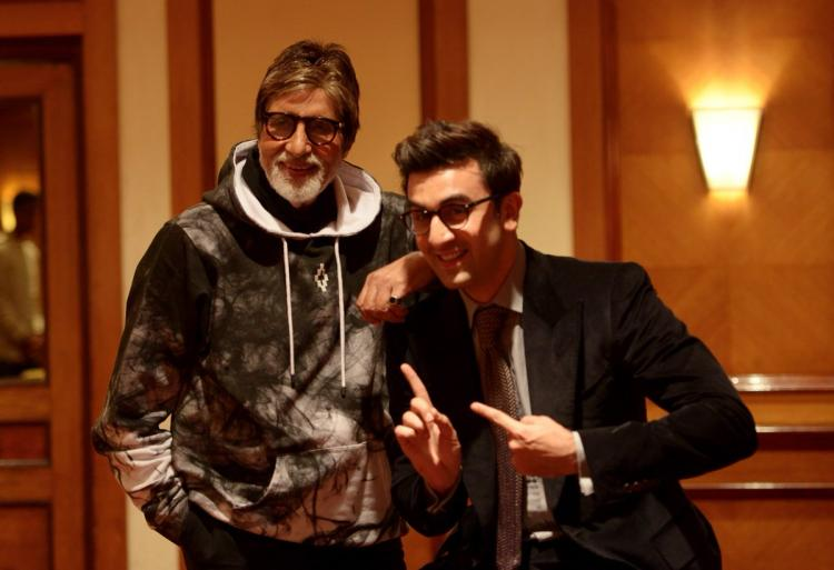 Image result for amitabh ranbir kapoor