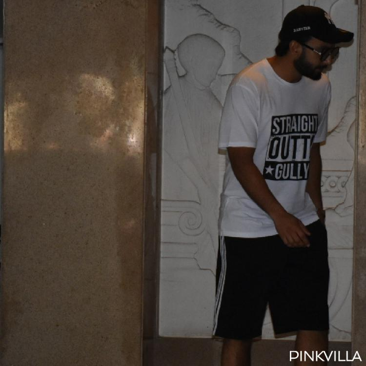 Ranveer Singh's T shirt screams Straight out of Gully and we totally agree; View pictures