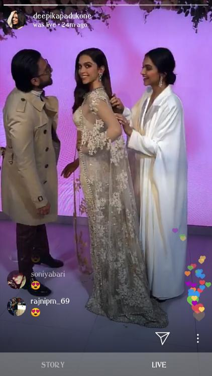 Ranveer Singh is totally smitten by Deepika Padukone's wax statue at Madame Tussaud's; Watch Video