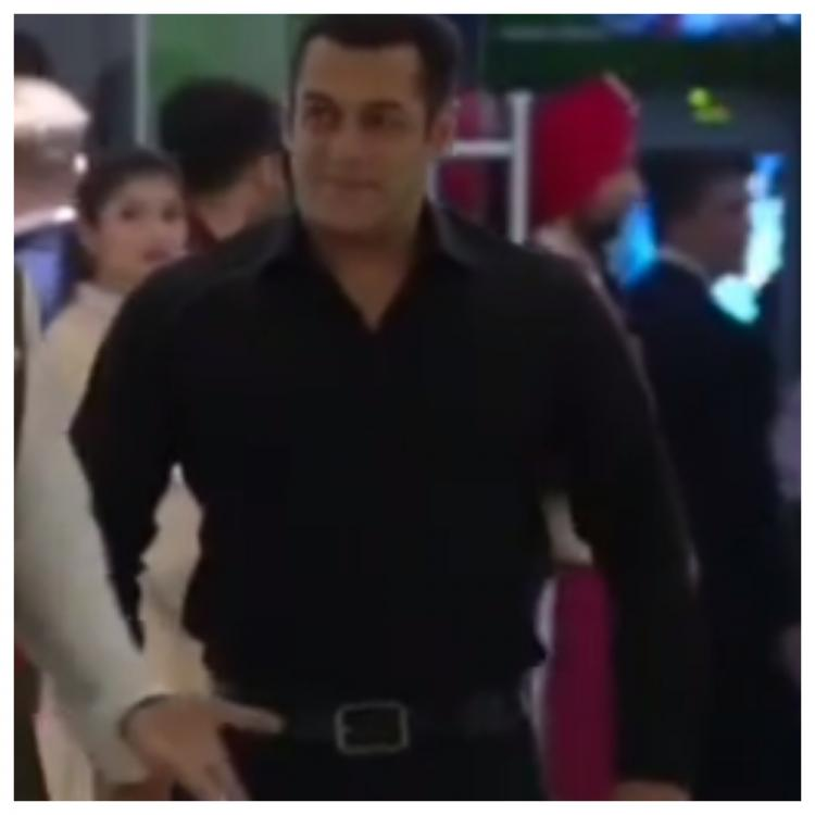 Salman Khan makes a delayed entry to Akash Ambani & Shloka Mehta Wedding, Ranveer welcomes him with open arms