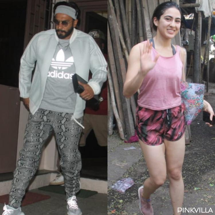 Photos: Ranveer Singh dubs for Gully Boy; Sara Ali Khan sweats it out at the gym