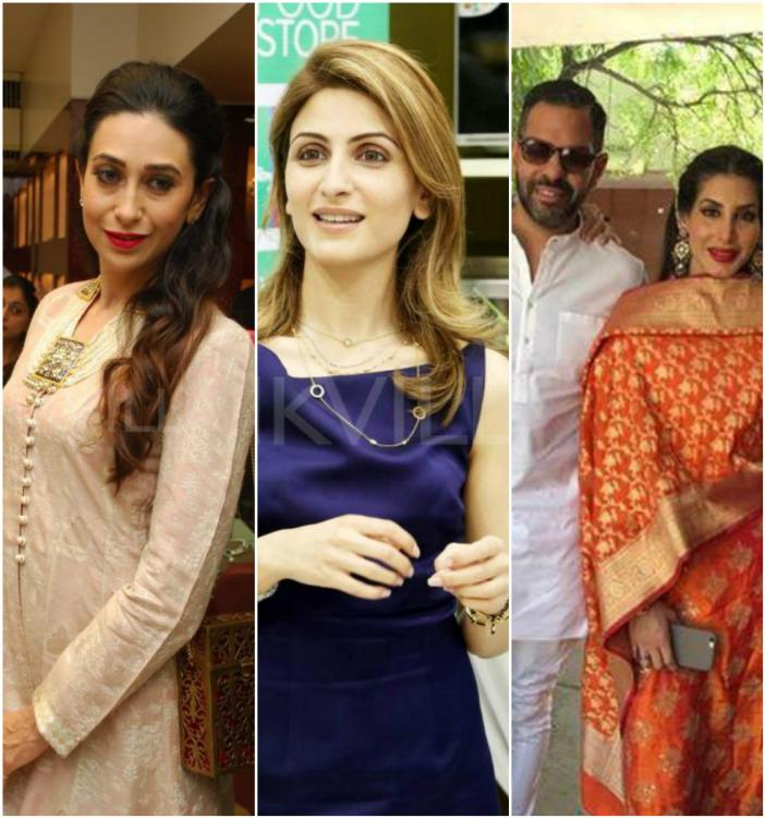 Rumours Of A Rivalry Between Kapoor Cousins Riddhima Sahni And Karisma Have Been Around For Over Decade The Became Strong When