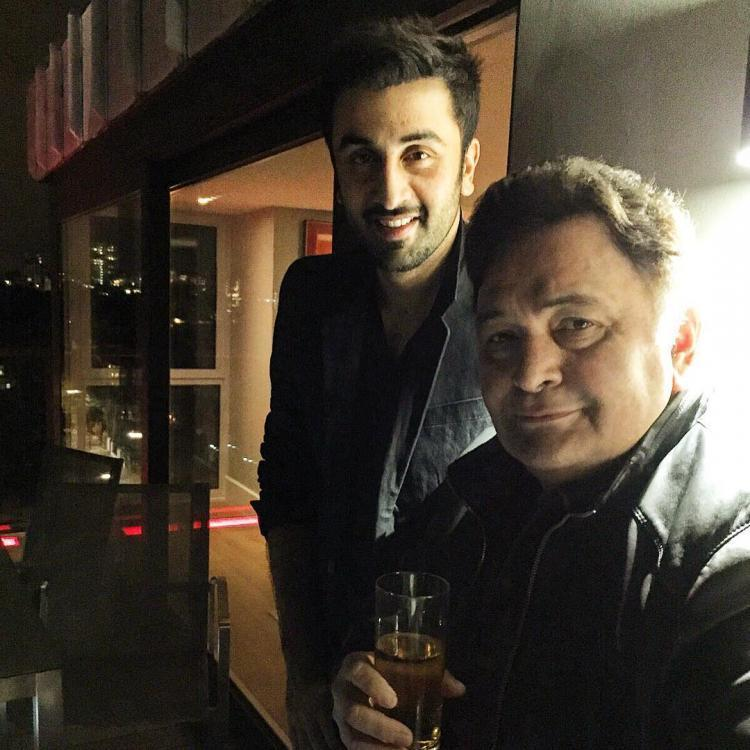 Rishi Kapoor lauds son Ranbir Kapoor after he wins Best Actor Award for Sanju